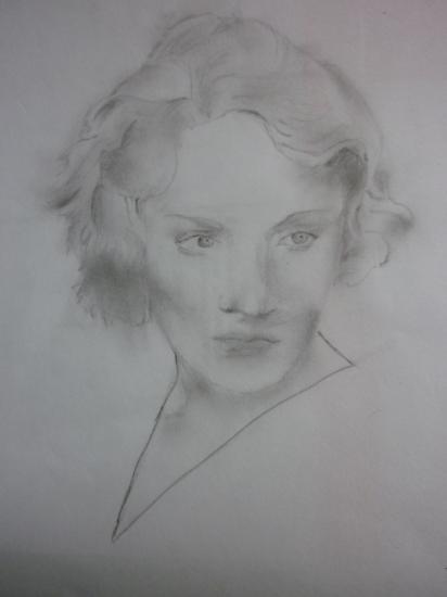 Marlene Dietrich par Boriskamarus